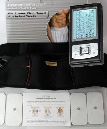 HealthmateForever Ab and Back Pain Relief Belt System