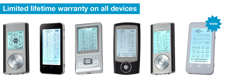 HealthmateForever devices come with a limited lifetime warranty