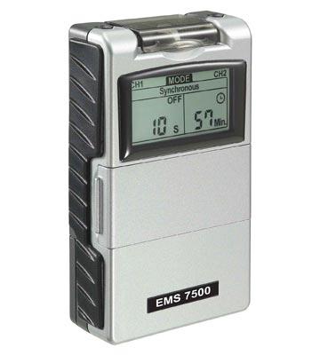 EMS 7500 electric muscle stimulator