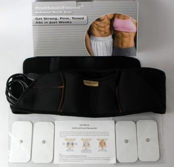 top-rated ab belts – HealthmateForever Ab and Back Pain Relief Belt System