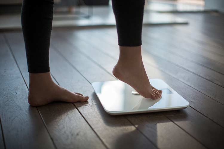 Withings scale (WS-50) in white