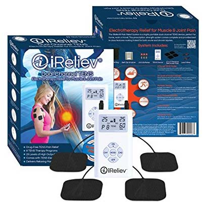iReliev Dual Channel TENS Pain Relief System