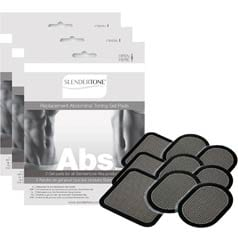 3 Sets of Replacement Gel Pads for All Slendertone Abdominal Belts
