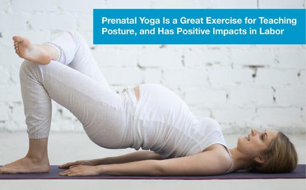 Focus on your posture –prenatal yoga