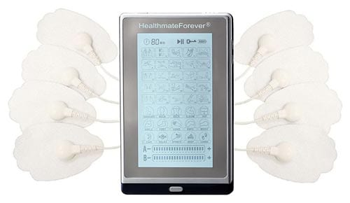 HealthmateForever T40AB isolated channels – touch-screen operated TENS unit