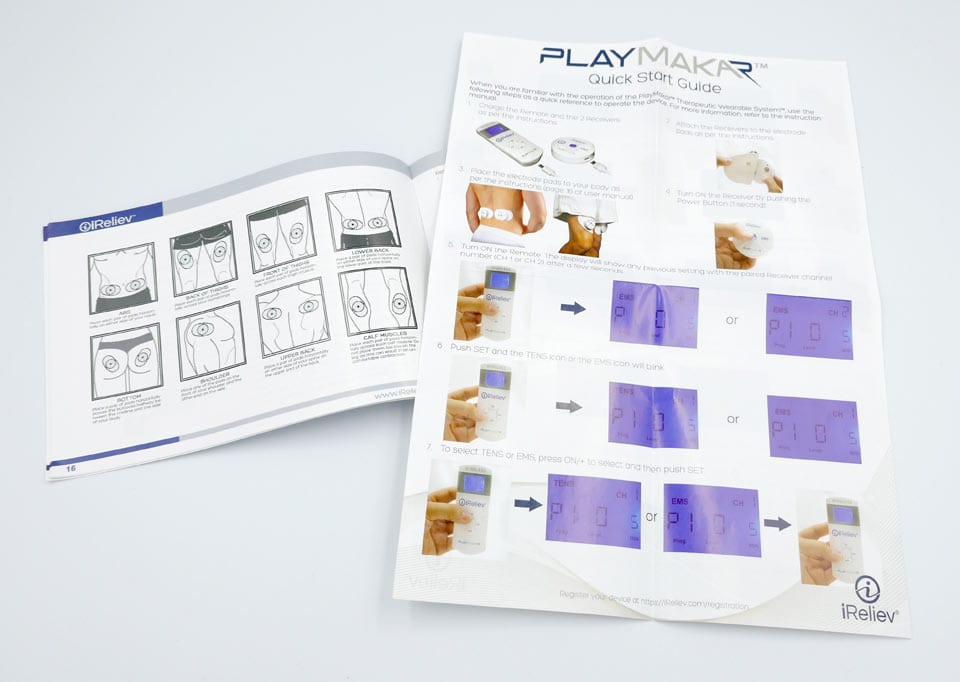 The instruction manual and quick start guide are both clear and easy to follow