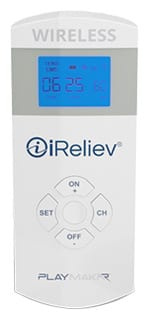 iReliev PlayMakar Wireless TENS and EMS Muscle Stimulator