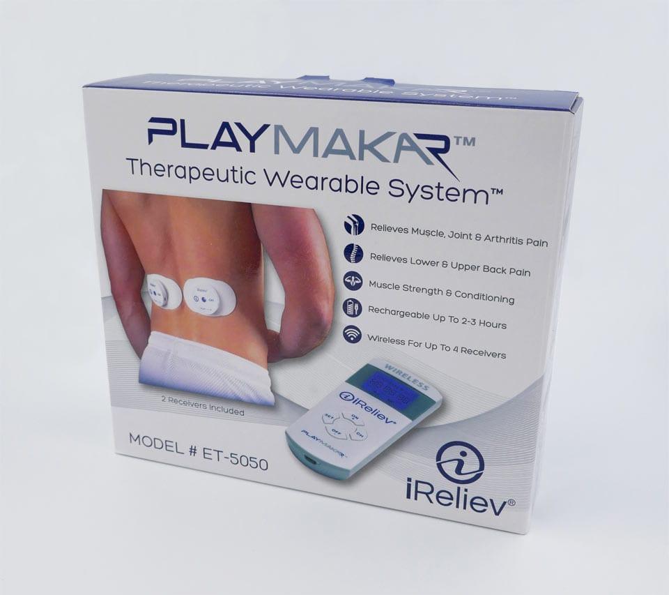 iReliev PlayMakar packaging