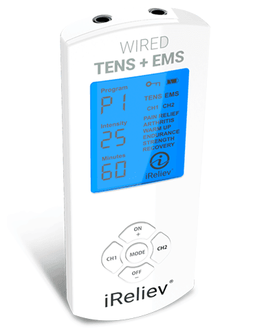 iReliev iRenew Plus TENS + EMS System
