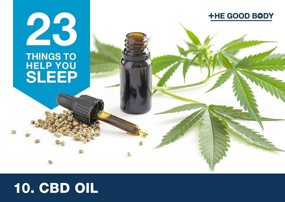 CBD oil to help you sleep
