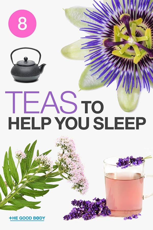 Teas to Help You Sleep – pin it