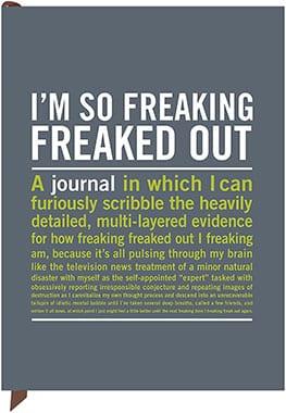 Knock Knock I'm So Freaking Freaked Out Inner-Truth Journal
