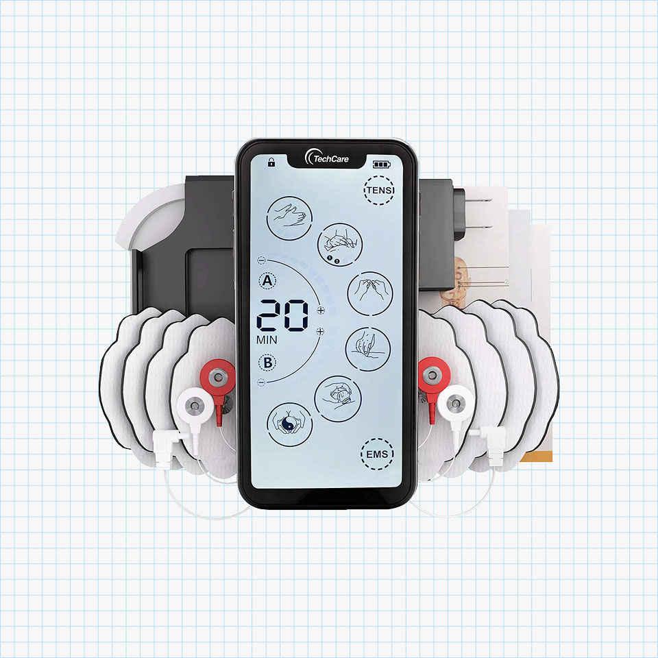 TechCare Touch X Tens Unit